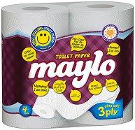 Трипластова тоалетна хартия