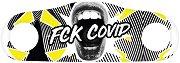 Предпазна маска за многократна употреба - Fck Covid