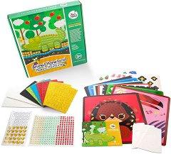 Мозайка - Животни - Творчески комплект със стикери - творчески комплект