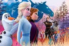 """Вълшебно пътуване - Детски пъзел от серията """"Замръзналото кралство"""" - душ гел"""