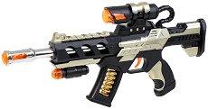 Супер снайпер - Детска играчка със светлинни и звукови ефекти -