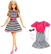 Барби с модни тоалети - кукла