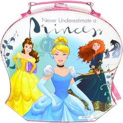 """Детски комплект с гримове в чанта - Disney Princess - От серията """"Принцесите на Дисни"""" - играчка"""