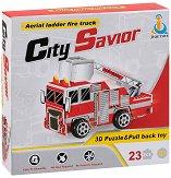 Пожарен камион с въздушна стълба -