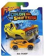 """Baja Breaker - Метална количка от серията """"Hot Wheels: Colour Shifters"""" - играчка"""