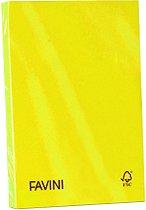 Цветен копирен картон в наситени цветове - 50 листа A4 с плътност 160 g/m : 2 :