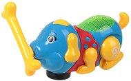 Кученце с кокал - Детска играчка със светлинни и звукови ефекти -