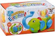 Слонче - Детска играчка със светлинни и звукови ефекти -