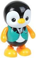Танцуващо пингвинче - Детска играчка със светлинни и звукови ефекти -