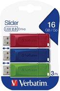 USB 2.0 флаш памет 16 GB - Slider