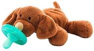 Плюшен държач със залъгалка 2 в 1 - Sleep Buddy: Puppy - За бебета от 0+ месеца -
