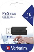 USB 2.0 флаш памет 16 GB - PinStripe