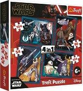 """Междузвездни войни - 4 пъзела в кутия от серията """"Star Wars"""" - макет"""