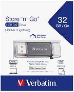 USB A / Lightning 3.0 флаш памет 32 GB - Store 'n' Go