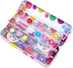 Детски комплект с гримове - POP Girls Color Tin - продукт
