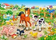 Във фермата - пъзел