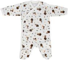 Бебешки гащеризон - 100% памук за недоносени бебета -