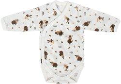 Бебешко боди - 100% памук за недоносени бебета -