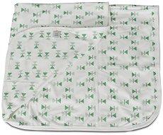 Бебешко одеяло - Mellow - 100% памук с размери 85 x 85 cm -