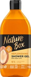 Nature Box Argan Oil Replenishing Shower Gel - Натурален душ гел с масло от арган - душ гел