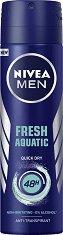 Nivea Men Fresh Aquatic Anti-Transpirant - Дезодорант против изпотяване за мъже - боя