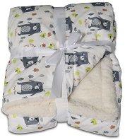 Бебешко одеяло - Shaggy - С размери 75 x 105 cm -