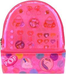 Детски комплект гримове с раница - POP Girls Color Backpack - продукт