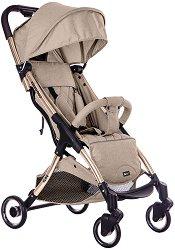 Лятна бебешка количка - Cloe - С 4 колела -