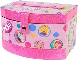 Детски комплект с гримове в куфар - POP Girls Beauty Vanity Case -