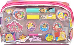 """Детски комплект с гримове в несесер - Disney Princess - От серията """"Принцесите на Дисни"""" - играчка"""