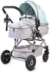 Комбинирана бебешка количка - Ciara - С 4 колела -
