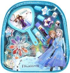 Детски комплект с гримове в раница - Disney Frozen - играчка