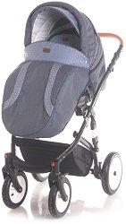 Бебешка количка 3 в 1 - Mia 2020 - С 4 колела -