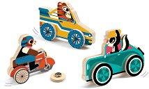 Clipacar - Детски дървен образователен комплект -