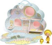 """Облачната къща на Съни и Мия - Куклена къща - куфар с 2 фигурки от серията """"Arty Toys"""" -"""