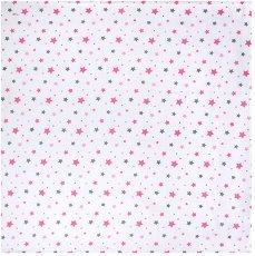Бебешка муселинова пелена - 100% памук с размери 100 x 100 cm -