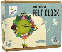 """Направи сам часовник - Горски свят - Творчески комплект от серията """"Crafts"""" -"""