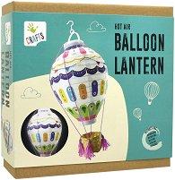 """Направи сам лампа - Балон с горещ въздух - Творчески комплект от серията """"Crafts"""" -"""