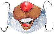 Универсална трислойна маска за многократна употреба - Еленска муцуна - Комплект с филтър