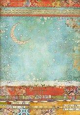Декупажна хартия - Нощно небе