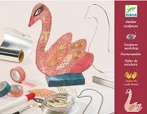 Направи сам - 3D скулптура на лебед - творчески комплект