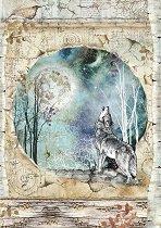 Декупажна хартия - Вълк