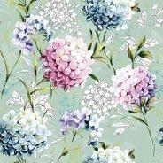 Салфетки за декупаж - Пастелни цветя - Пакет от 20 броя