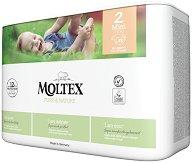 Moltex Pure & Nature 2 - Mini - Еко пелени за еднократна употреба за бебета с тегло от 3 до 6 kg -