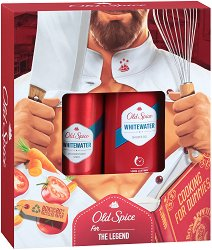 """Old Spice Alpinist Whitewater - Подаръчен комплект за мъже от серията """"Whitewater"""" - шампоан"""