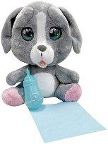 Cry Pets - Кученце - Плачеща плюшена играчка с аксесоари - играчка