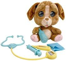 Cry Pets - Ветеринарна клиника - Плачеща плюшена играчка с аксесоари - играчка