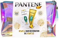 Pantene Aqua Light - Подаръчен комплект с козметика за коса -