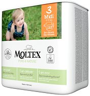 Moltex Pure & Nature 3 - Midi - Еко пелени за еднократна употреба за бебета с тегло от 4 до 9 kg -