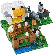 """Кокошарник - Детски конструктор от серията """"LEGO Minecraft"""" -"""